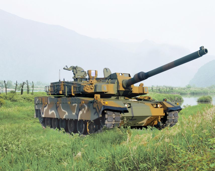 Hyundai Rotem announced on 22 December that it has been awarded a KRW533 billion contract for the production of a third batch of K2 MBTs for the RoKA. (Hyundai Rotem)
