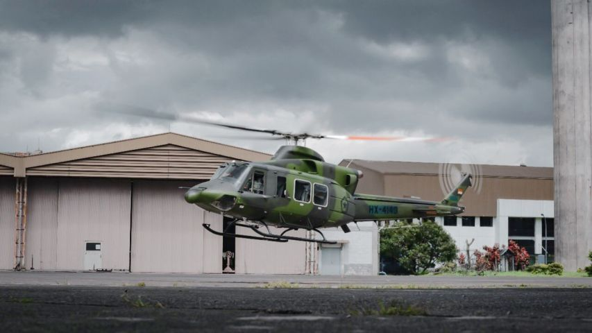 PDTI announced on 30 December 2020 that it delivered the first of nine Bell 412EPI multirole helicopters ordered for the Indonesian Army in December 2018. (PTDI)