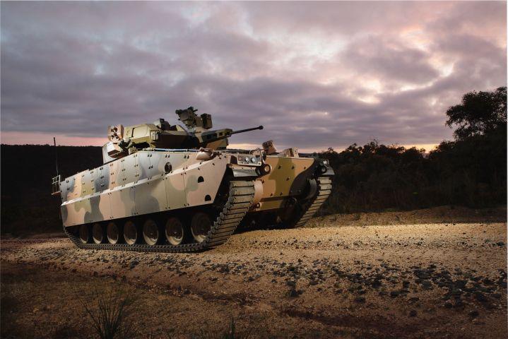 Hanwha Defense Australia and the state government of Victoria have signed an agreement to collaborate on the development of a manufacturing facility that proposes to build the company's Redback IFV (pictured). (Hanwha Defense Australia)