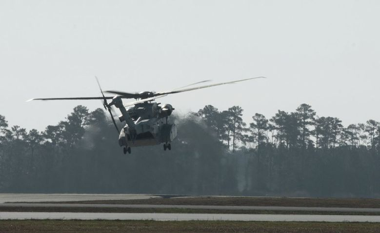 The first fleet flight of a Sikorsky CH-53K King Stallion was announced on 19 January. (NAVAIR)