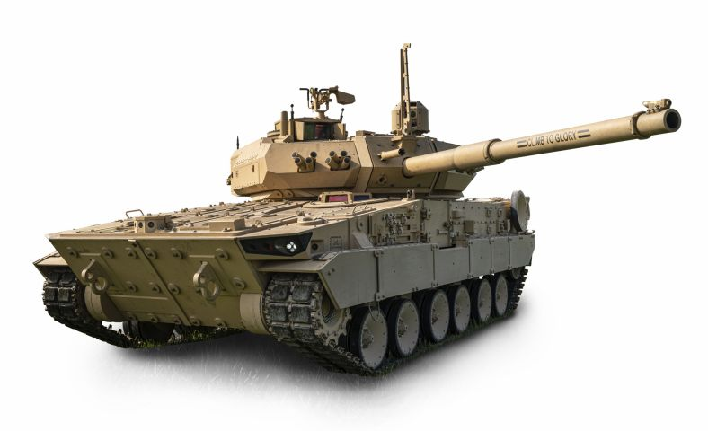 GDLS's 'light tank' prototype that is now participating in a US Army soldier vehicle assessment.  (GDLS)