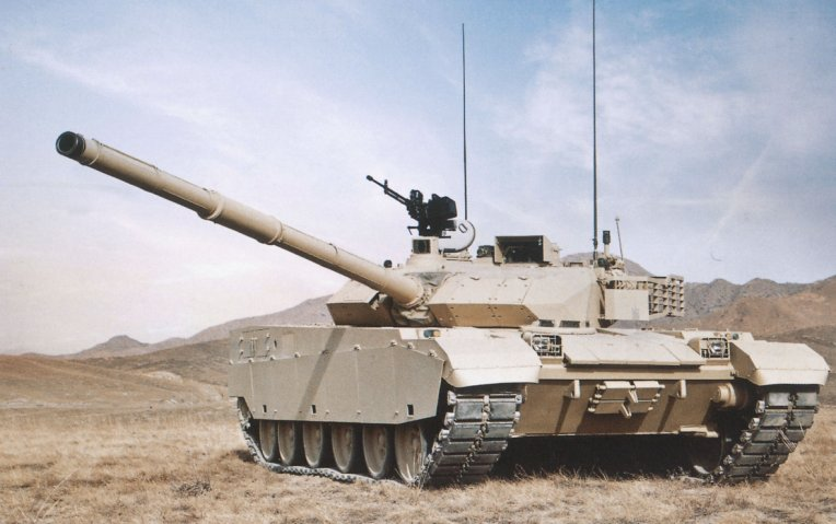 Thailand and China are discussing plans to set up a facility to support Chinese-made military vehicles in Thailand, such as the VT4 MBT pictured here.  (NORINCO)