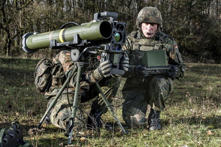 The Bundeswehr has ordered 666 more Spike missiles and 82 ICLUs for German infantry and panzergrenadiers. (Rheinmetall)