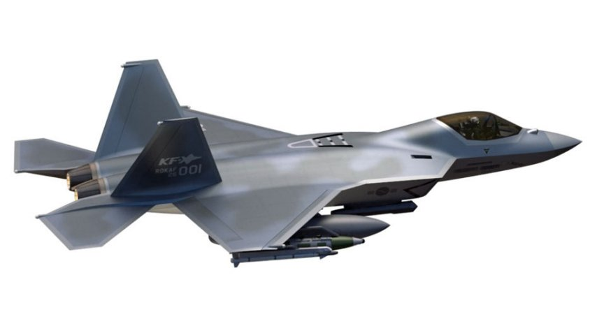 Korea Aerospace Industries (KAI) regards its KF-X fighter aircraft (pictured) as a key platform in its expansion plans over the coming decade. The aircraft is under development and is scheduled to make its first flight in 2022. (Korea Aerospace Industries)
