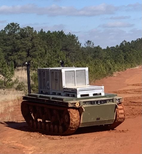 GDLS's TRX recently participated in the Army Expeditionary Warrior Experiment. (GDLS)