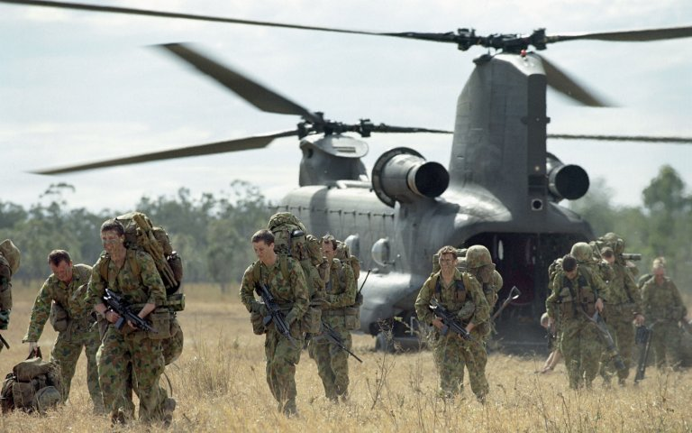 Australia is set to receive a further four CH-47F Chinook transport helicopters to add to the 10 it already fields. (Australian Department of Defence)