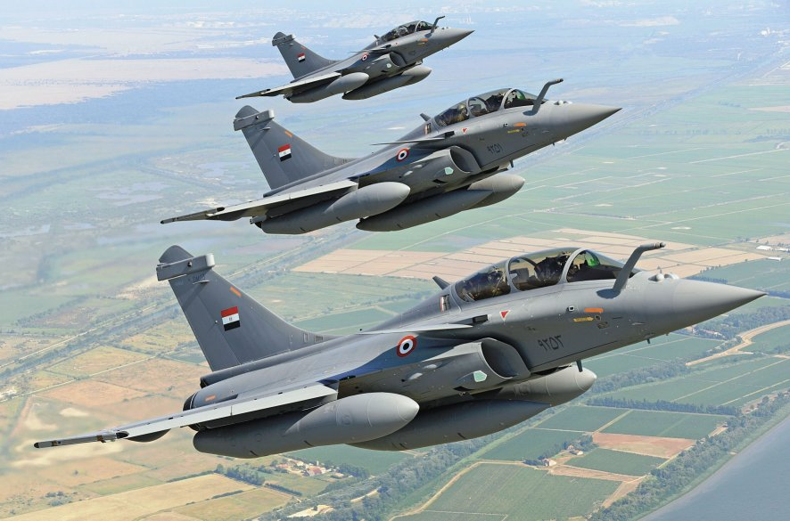 Egypt is set to receive a further 30 Rafales to add to the 24 already in service. (Dassault)