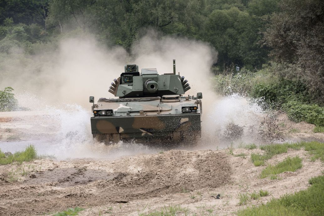 Hanwha Defense has said it is willing to offer its K21-105 Light Tank to meet a requirement in the Indian Army.  (Hanwha Defense)