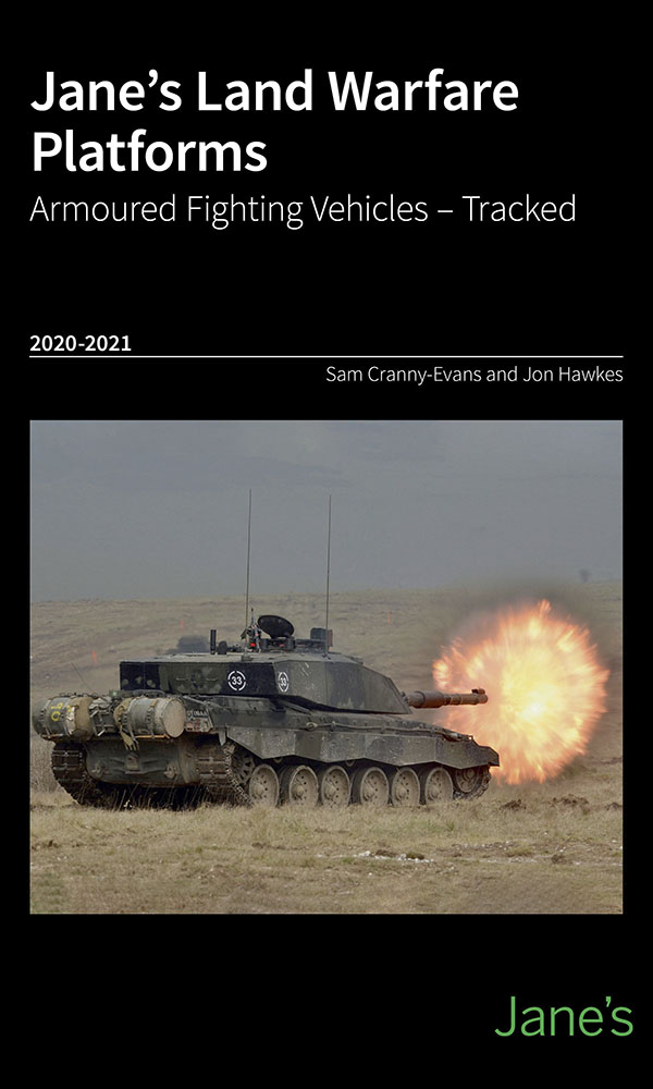 Jane's Land Warfare Platforms -Armoured Fighting Vehicles -Tracked 2020-21
